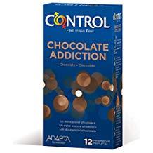 control preservativos sabor chocolate