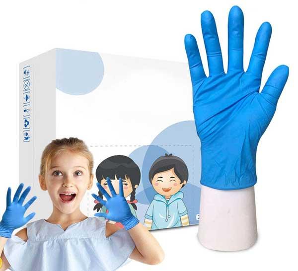 guantes-desechables-para-niños